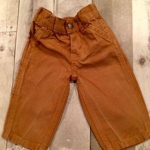 Kids Carhartt Khaki Pants (8 mos)